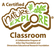 A Certified Nature Explore Classroom